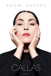 """Afişul noului film """"Callas"""", aflat încă în producţie"""
