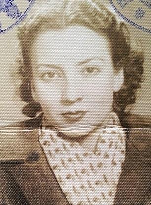 """Livia Stella """"Pussy"""" Nasta, devenită după război  Lady Livia Deakin"""