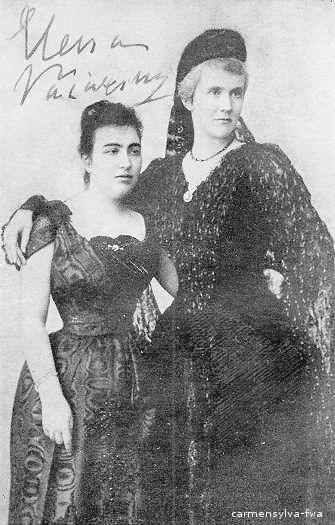Elena Văcărescu alături de Regina Elisabeta (Carmen Sylva) - www.carmensylva-fwa.de