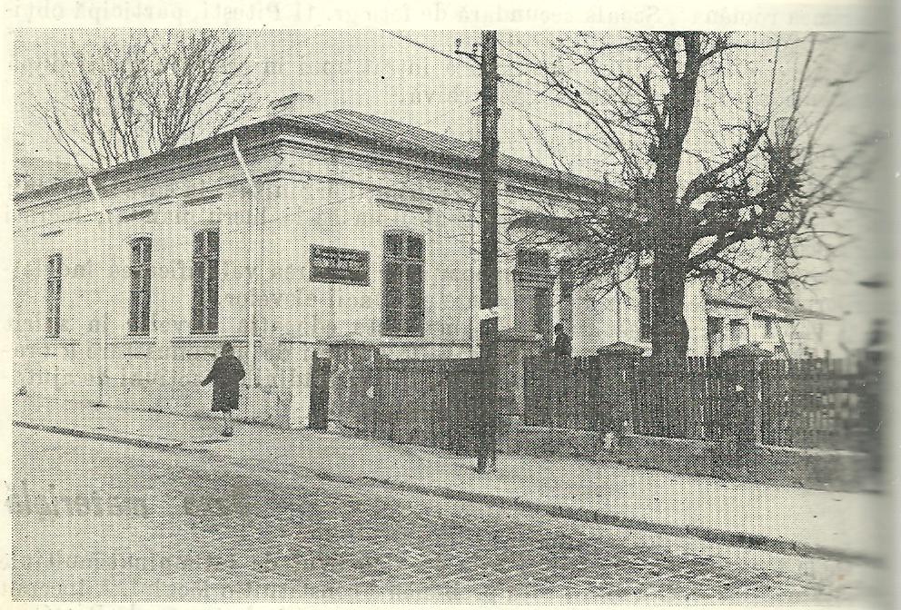 Primul local al ṣcolii; http://www.zinca-golescu.ro/