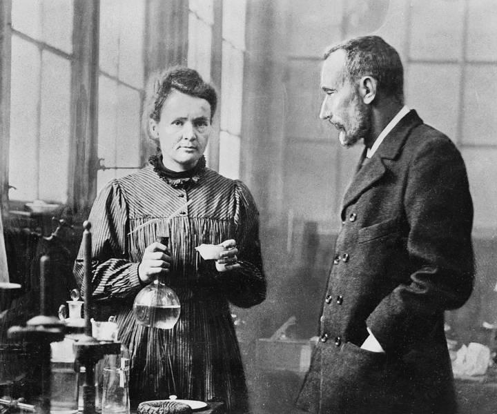 Marie şi Pierre Curie