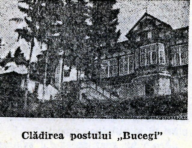 1943 Cladirea postului Bucegi