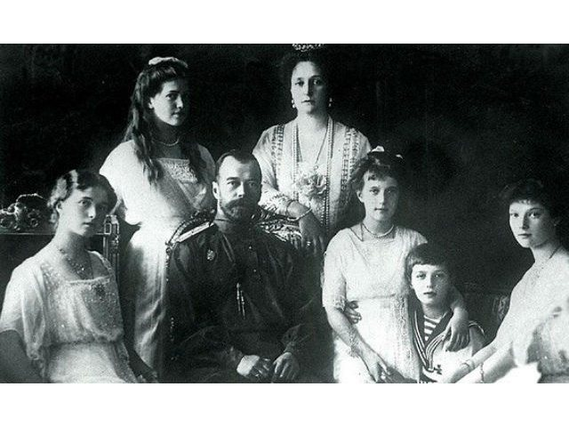 Familia imperială asasinată în 1918