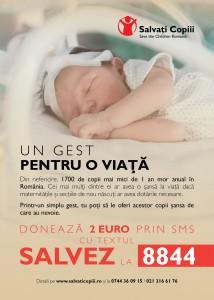 Campanie Salvati Copiii - Un gest pentru o viata