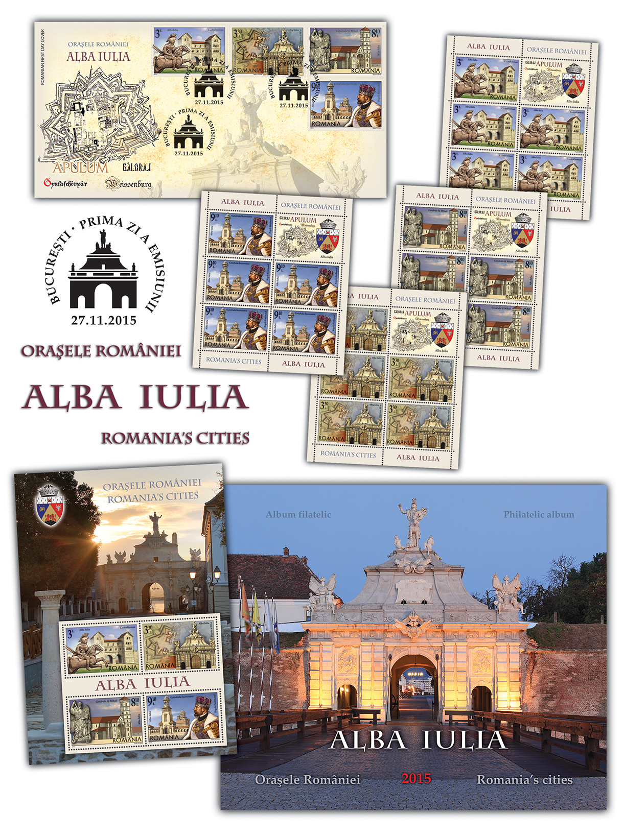 Orasele Romaniei, Alba Iulia_Romania's cities, Alba Iulia