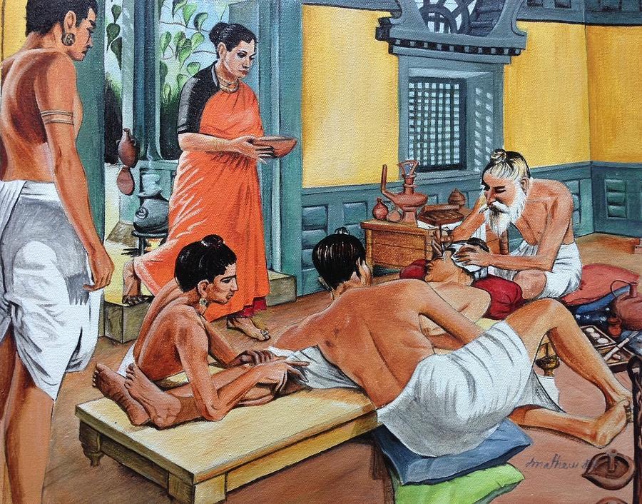 India antică - medicul Sushruta