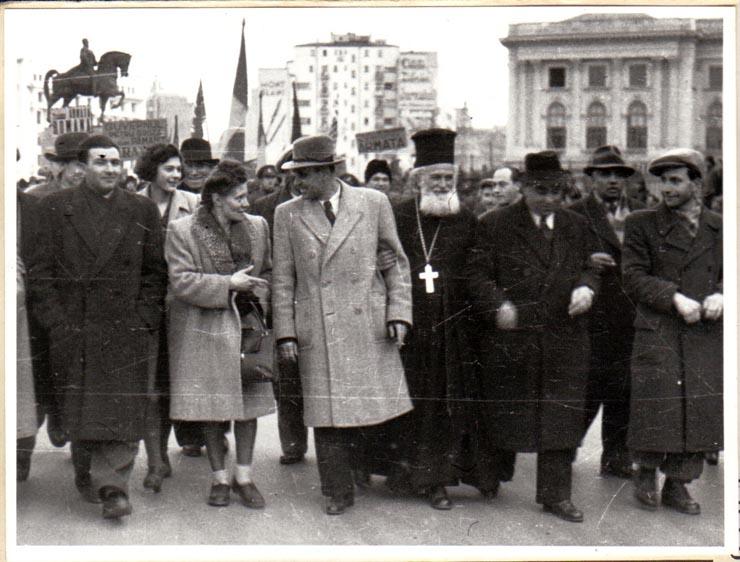 Ana Toma ṣi Ghorghiu Dej; fototeca online a comunismului românesc, cota 100/1945;  http://www.arhivelenationale.ro