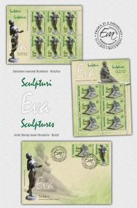 Romania - Brazilia_Sculpturi - Eva_Romania - Brazil_Sculptures - Eve