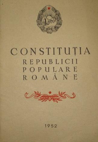constitutia RPR
