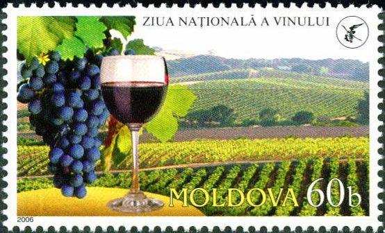 vin moldova timbru