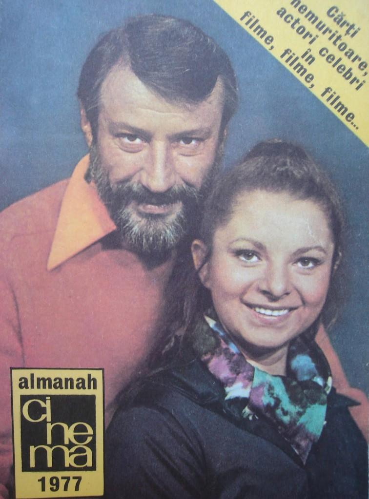 Coperta revistei Cinema (1977)