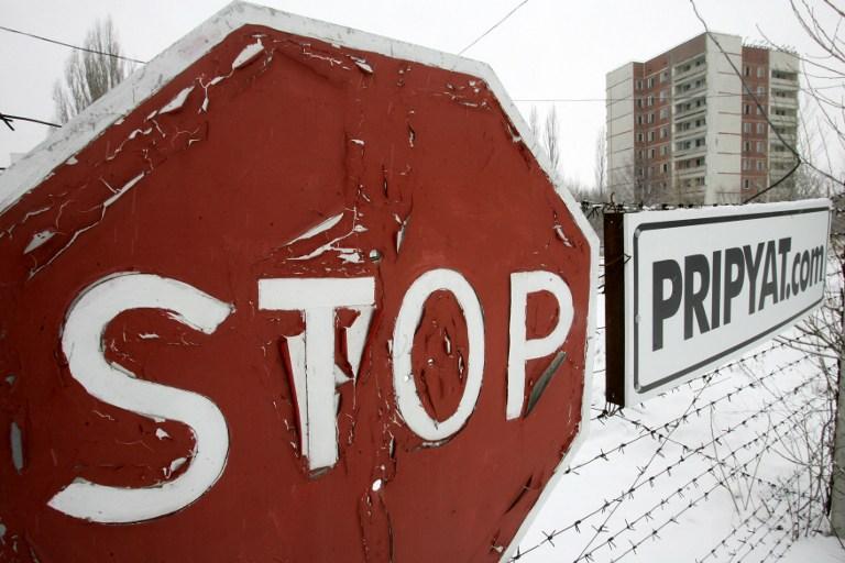 Orasul fantoma Pripyat (27 februarie 2007)  AFP PHOTO/ SERGEI SUPINSKY /