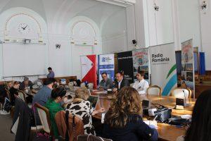 Conferinta de presa Gaudeamus Oradea 2