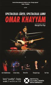Spectacolul Cartii, Spectacolul Lumii-Omar Khayyam2