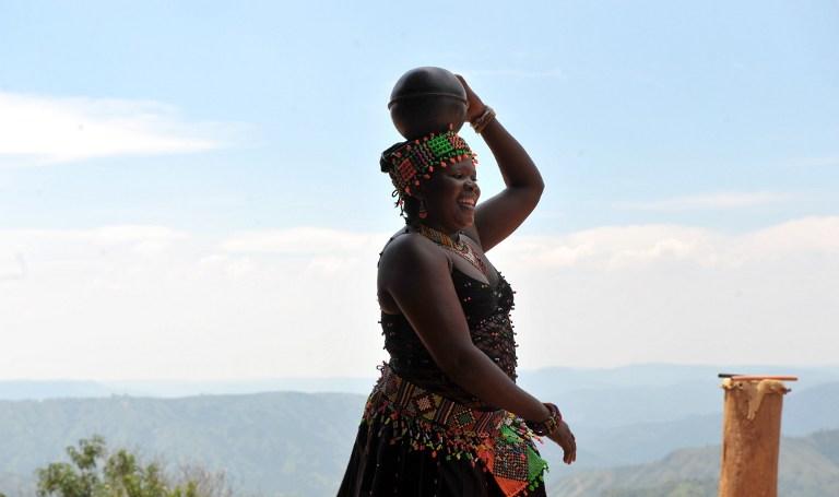 Dans Zulu traditional /AFP PHOTO / ALEXANDER JOE /