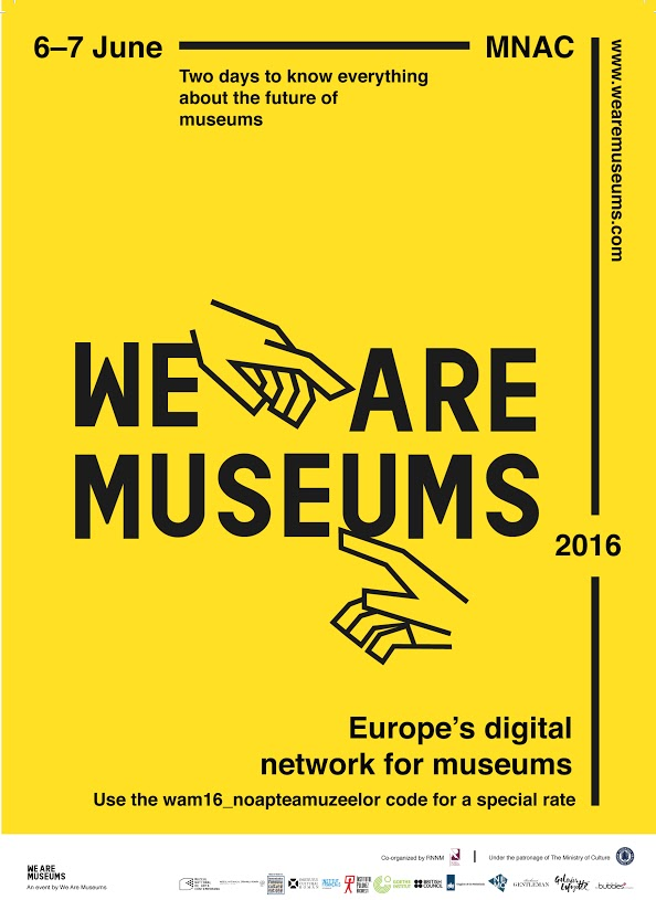 Afis - We Are Museums 2016