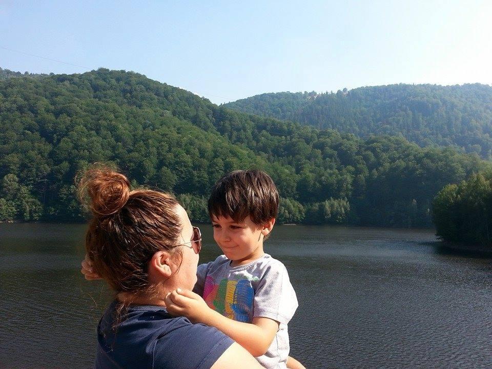 Liviana și băiatul ei, David Sursa: Facebook