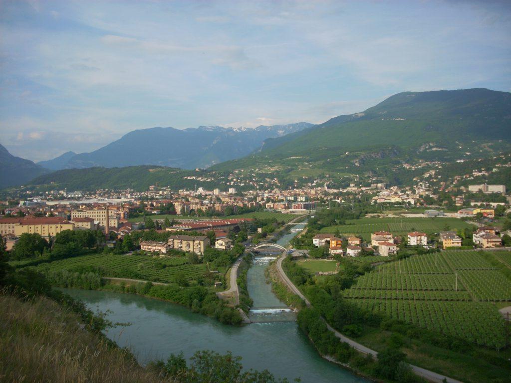 Panorama Rovereto