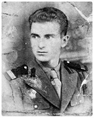 Anghel Papacioc, militar, înainte de arestare