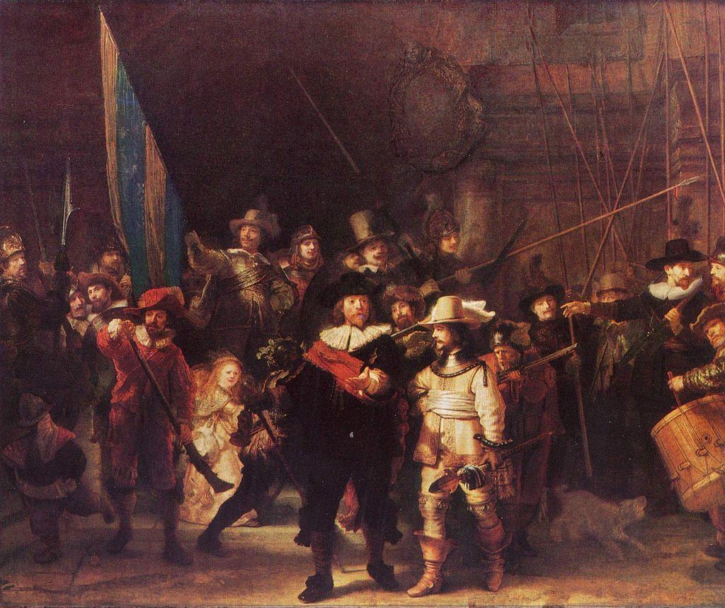 Rembrandt - Rondul de noapte - Rijksmuseum, Amsterdam