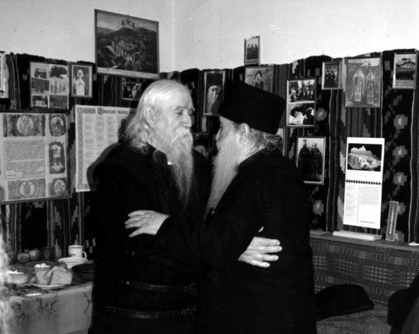 Părintele Ilie Cleopa şi Părintele Arsenie Papacioc - Foto: www.marturisitorii.ro