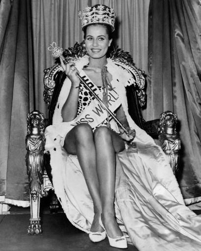 Catharina Lodders, Miss World 1962 / AFP PHOTO