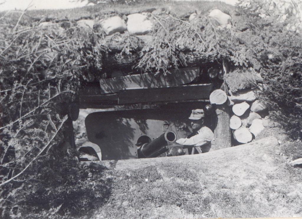 Obuzier de 150 mm - Fototeca Muzeului Militar Naṭional
