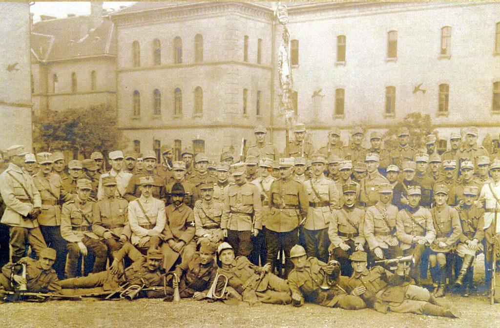 Regimentul 16 infanterie Suceava - Budapesta1919