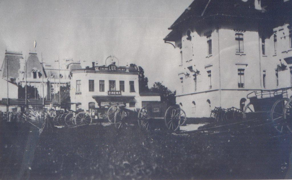 Trofee austro-ungare la Târgu Jiu; Fototeca Muzeului Militar Naṭional