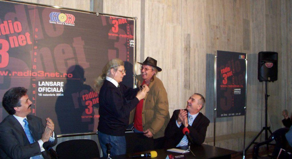 Lansarea Radio3Net – noiembrie 2004