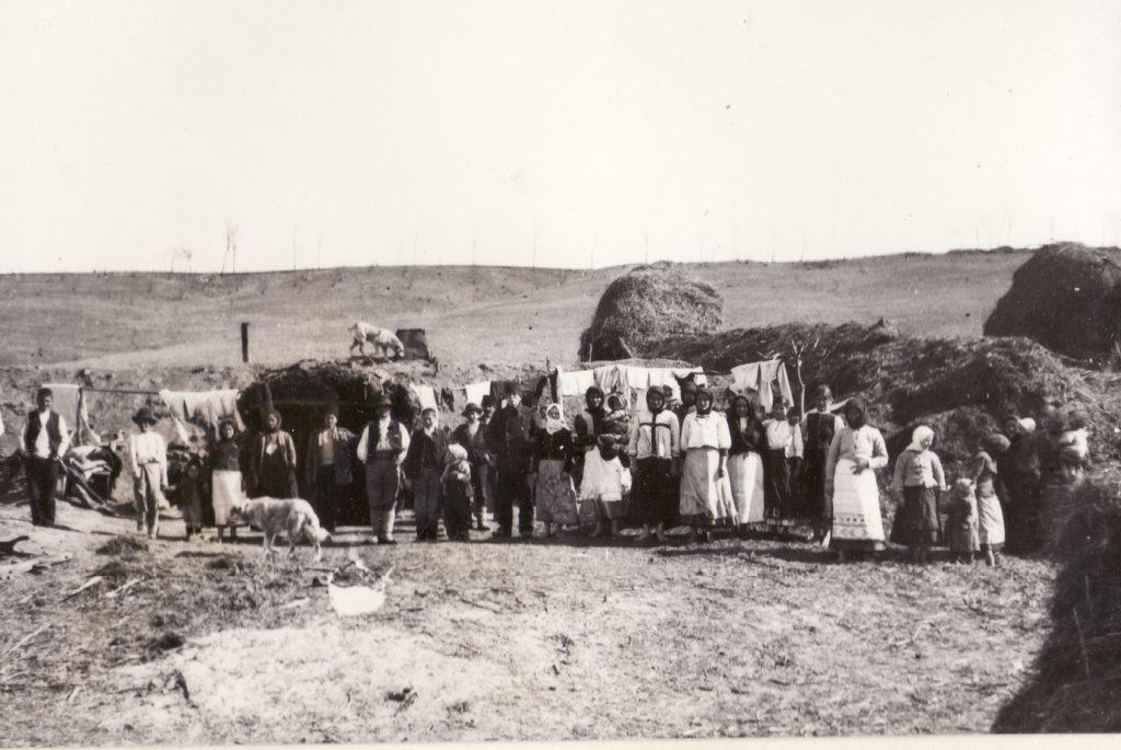 Refugiati din Dobrogea - fototeca MMN.