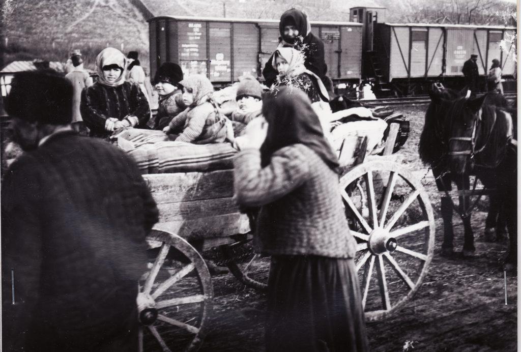 Refugiati - fototeca Muzeului Militar National