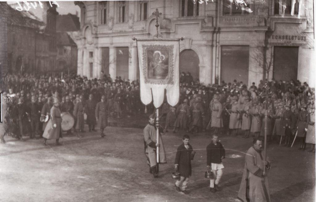 Boboteaza 1917. Fototeca Muzeului Militar Naṭional