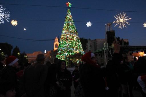 Bethleem - AFP PHOTO / MUSA AL-SHAER