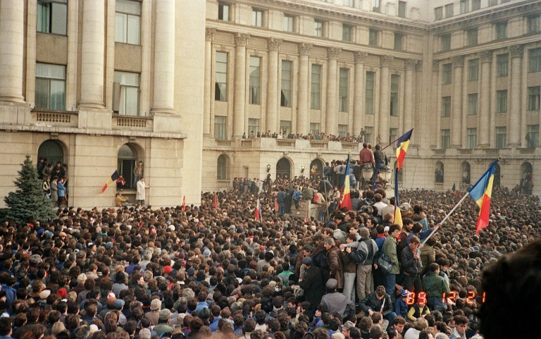 21 decembrie 1989 / AFP PHOTO