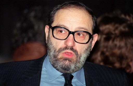 Umberto Eco / AFP PHOTO / DERRICK CEYRAC AND -