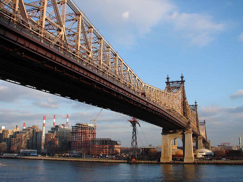 Queensboro Bridge, foto Alex Gorzen; wikimedia.org