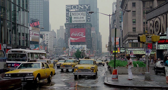 Times Square, Manhattan, anii '80