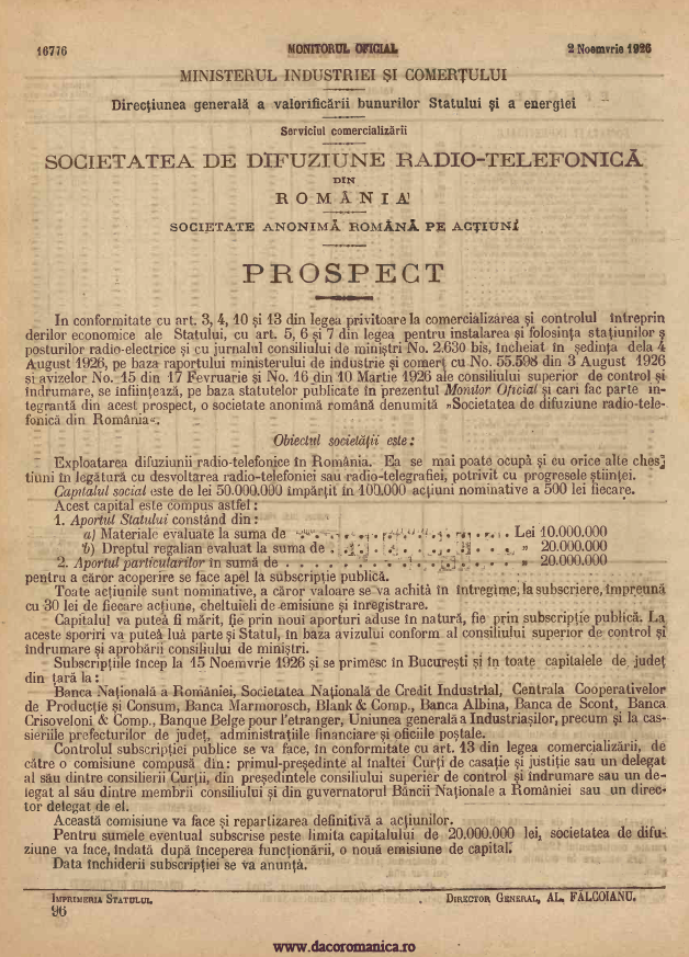 Prospect_actiuni_2_noiembrie_1926