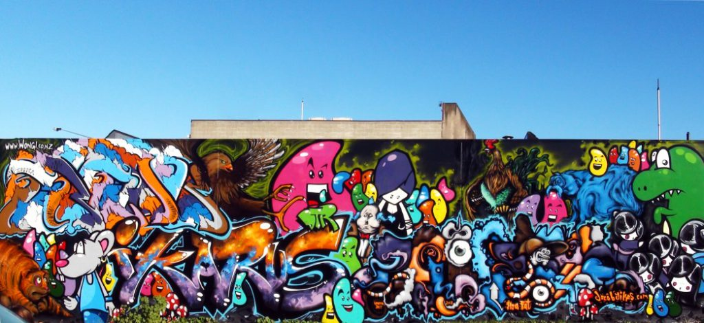 christchurch graffiti