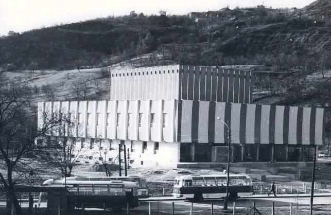 Clădirea actuală a Radio Cluj, la inaugurare - 1967