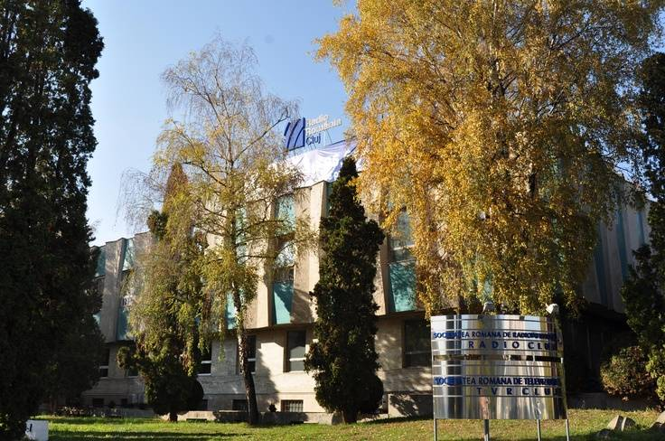 Clădirea Radio România Cluj astăzi