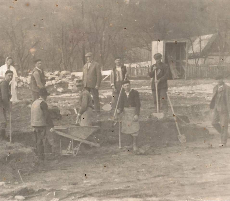 Şantierul noii clădiri - 1967