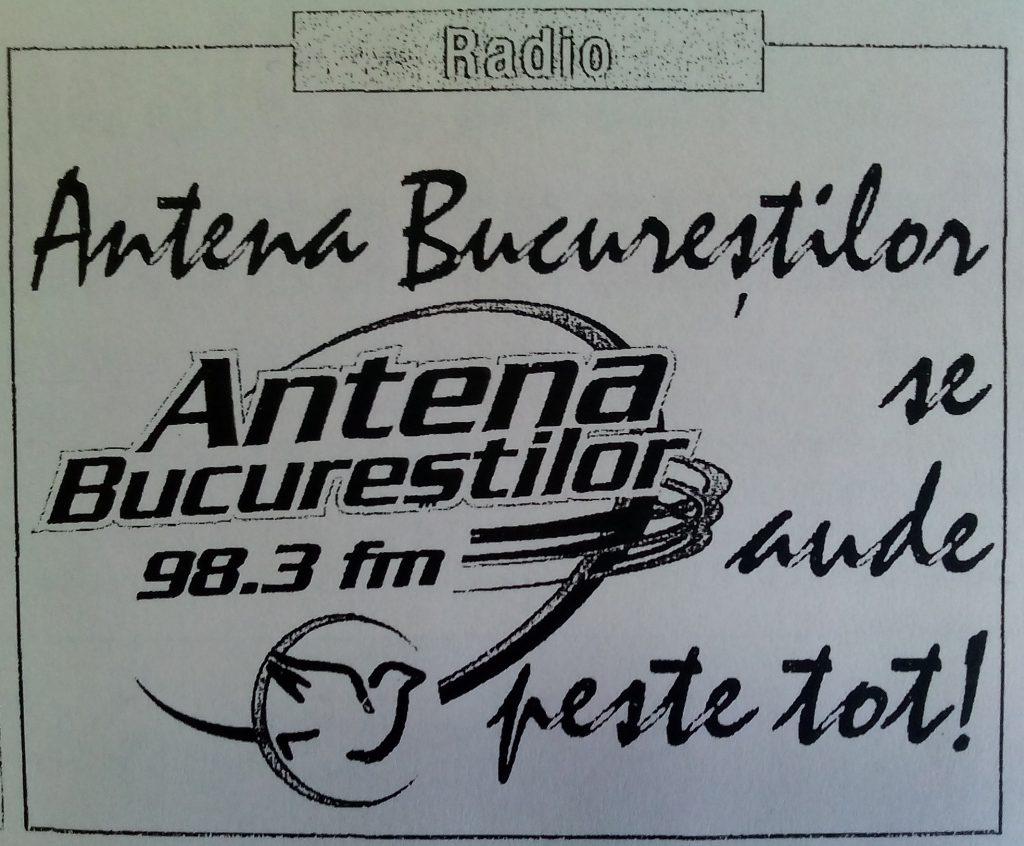 logo vechi bucuresti fm