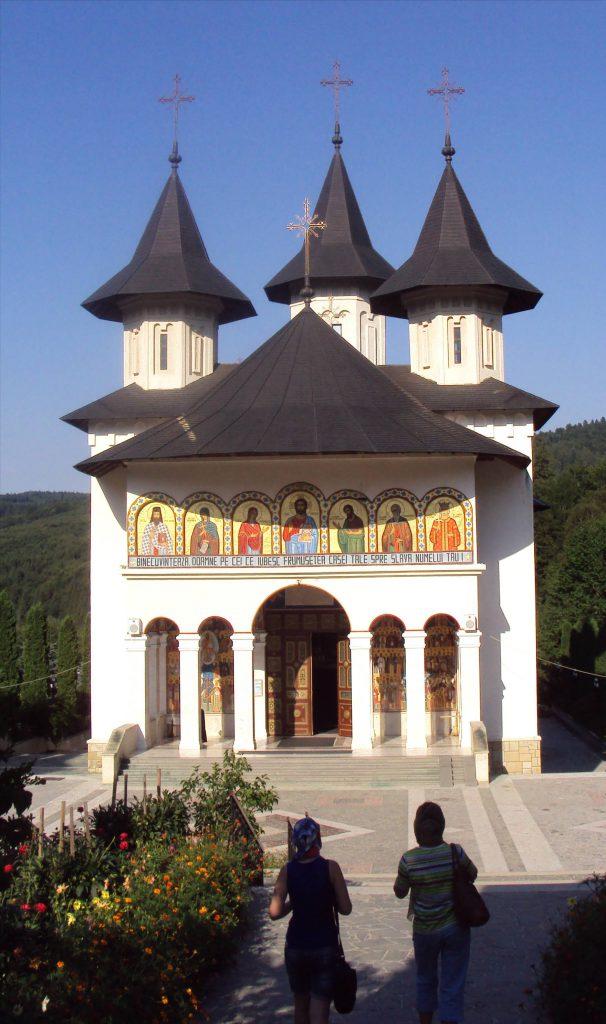 Biserica nouă a Mănăstirii Sihăstria