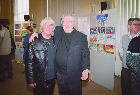 Alături de Gheorghe Verman – decembrie 2004