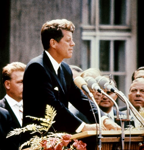 John Fitzgerald Kennedy / AFP PHOTO / LIBRARY OF CONGRESS