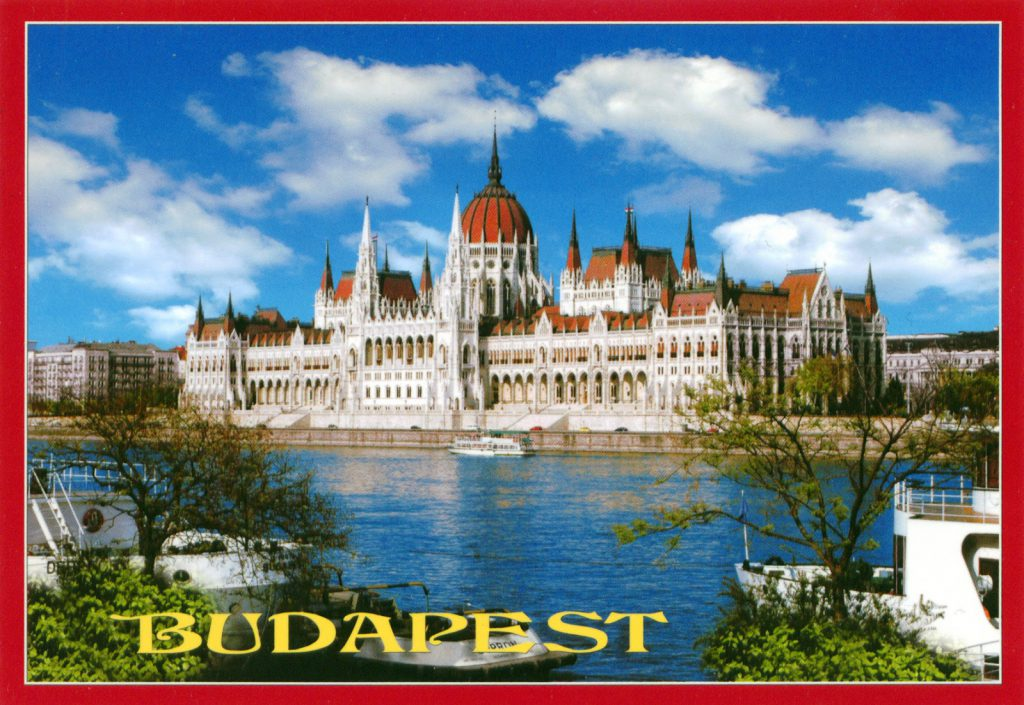 HUNGARY - Budapest, Hungarian Parliament Building