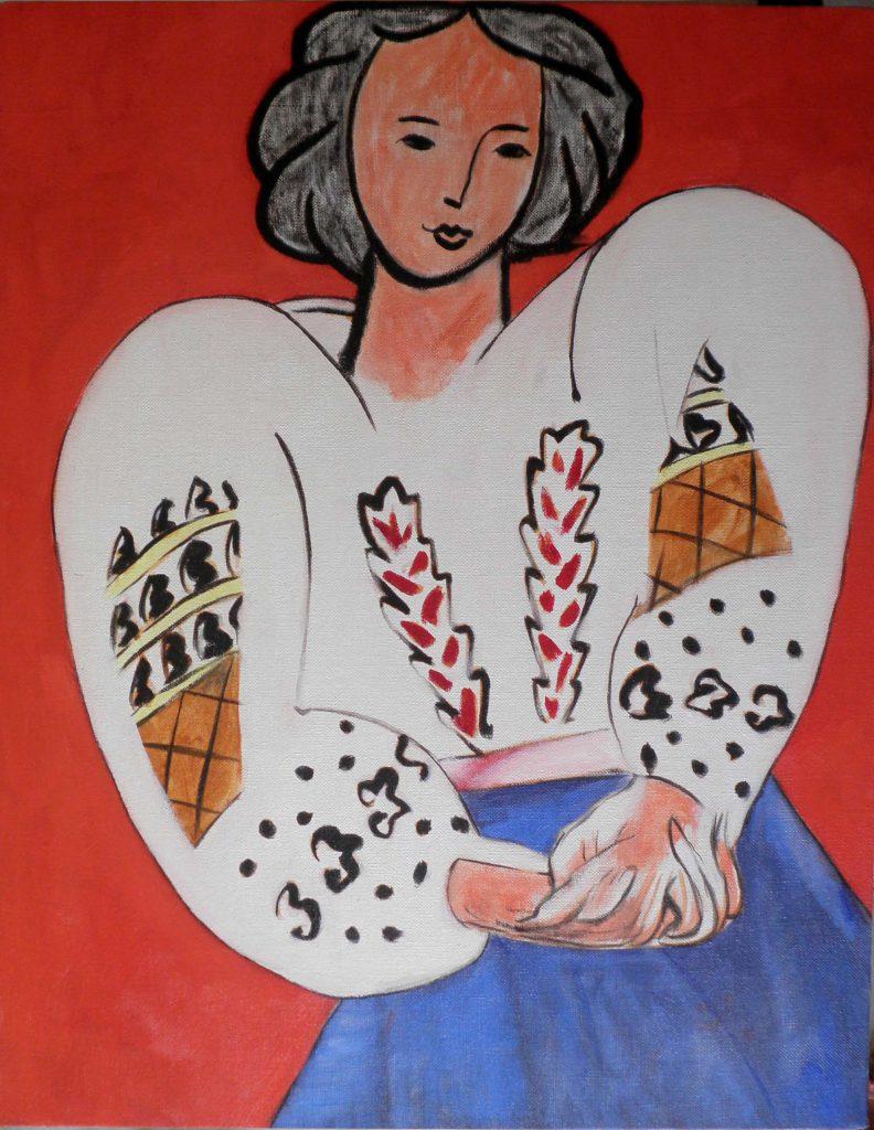 la blouse roumaine - Henri Matisse