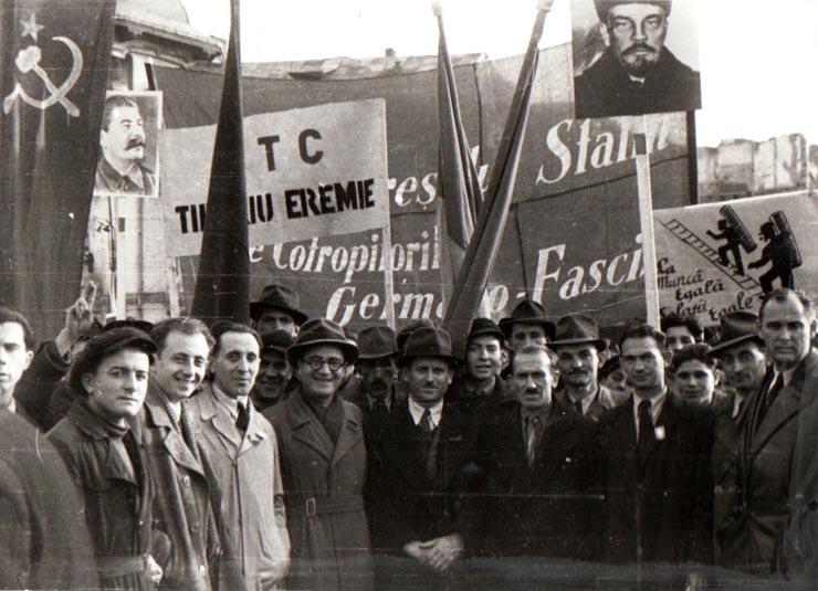 Miting de 7 noiembrie 1944 Fototeca online a comunismului românesc, cota 140/1944